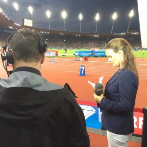 Diamond League reporter