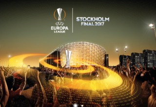 Europe League final in Stockholm