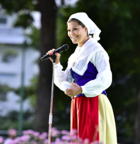 Princess Victoria celebrates 40 years